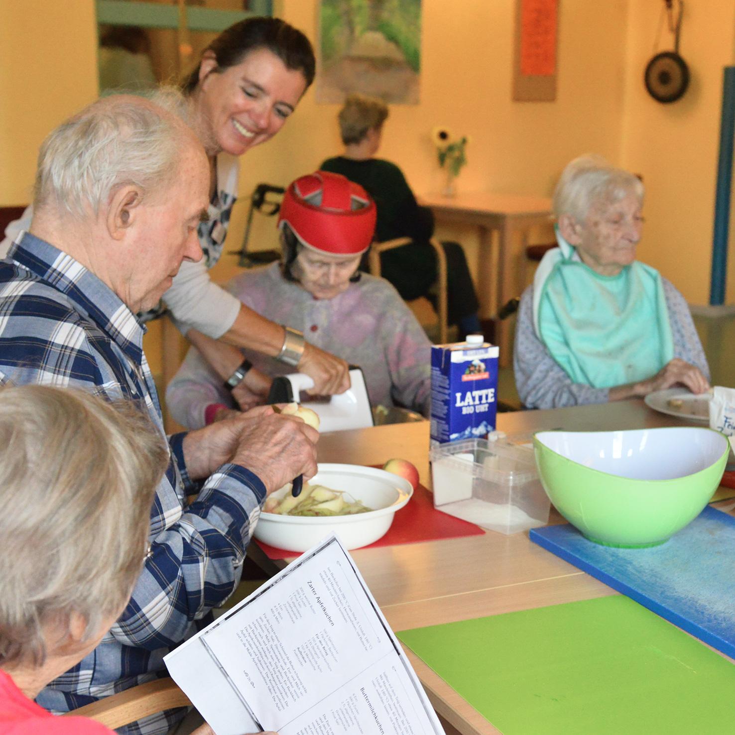 Leben ist Rhythmus. Rhythmus gibt uns Orientierung - und in besonderer Weise gilt dies für alte Menschen.